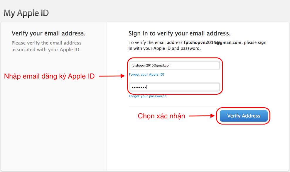Cách tại tài khoản iCloud, iTunes miễn phí