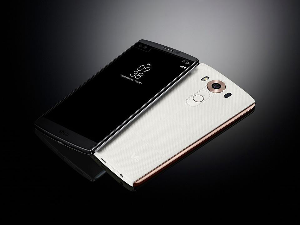 LG V10 ra mắt với 2 màn hình, camera selfie kép và RAM 4GB 4