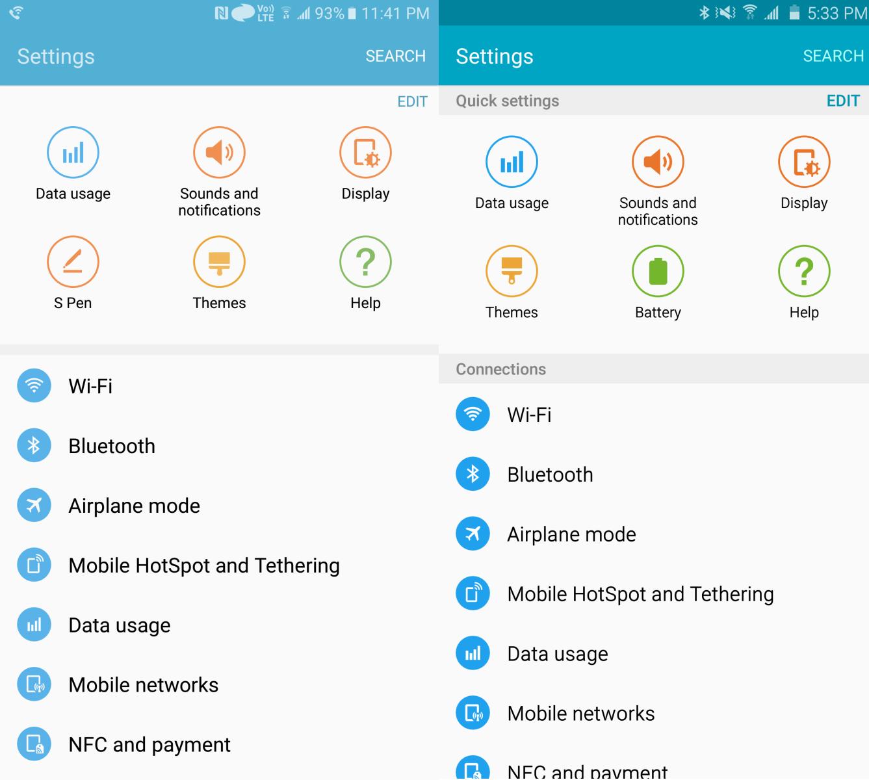Ngắm nhìn giao diện Android 6.0 chạy trên Galaxy Note5 1