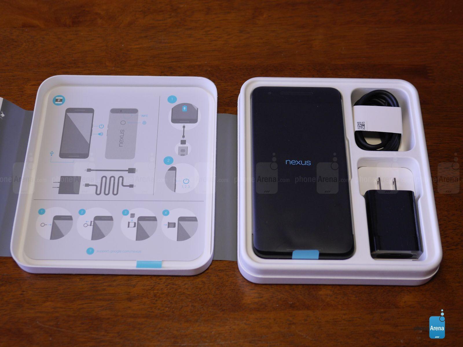 Đập hộp điện thoại Google Nexus 6P