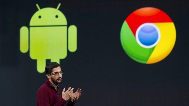Google lên kế hoạch sát nhập Android và Chrome OS vào năm 2017 2