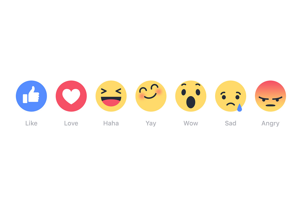 Nút Facebook Reactions