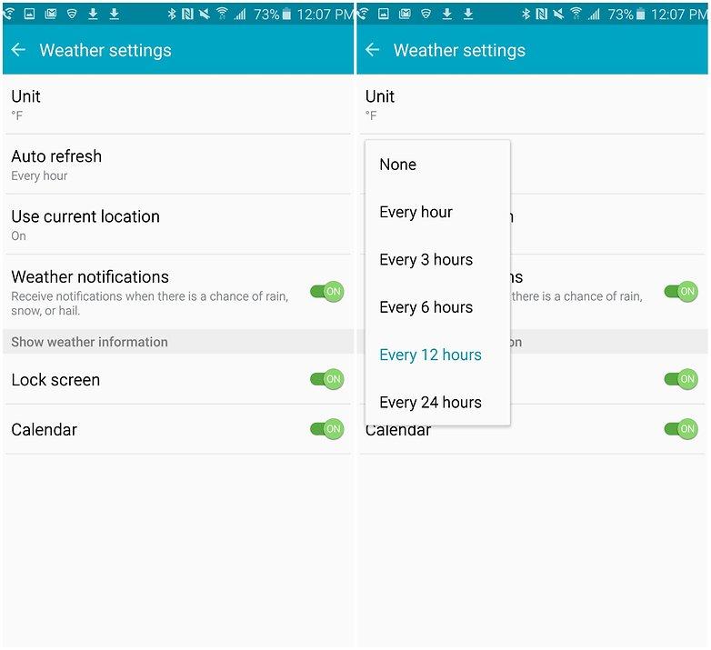 tiết kiệm pin trên Galaxy Note 5