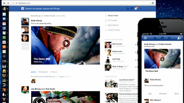 Facebook thử nghiệm Video Feed