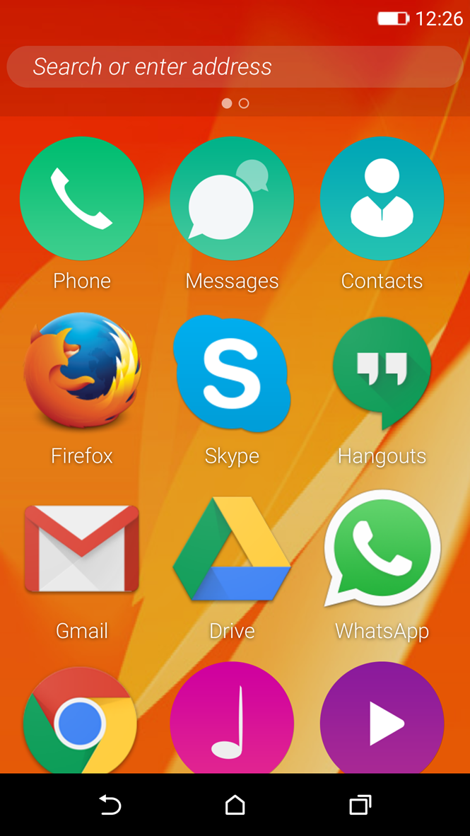 firefox 2.5 cho android
