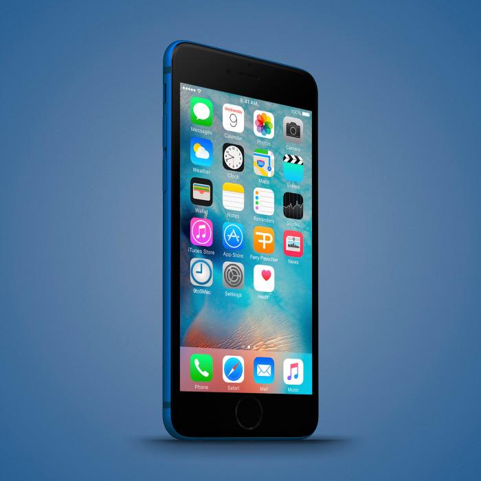 Bộ ảnh dựng iPhone 6c với nhiều màu sắc đẹp hút hồn 1