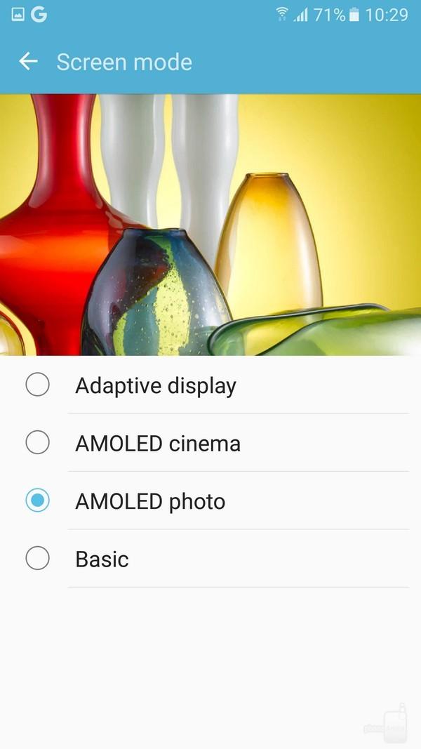 Mẹo chuyển chế độ hình ảnh tùy theo sở thích trên Galaxy S7 7