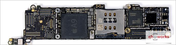 Mổ xẻ iPhone SE cho thấy hầu hết linh kiện của iPhone 6s 1