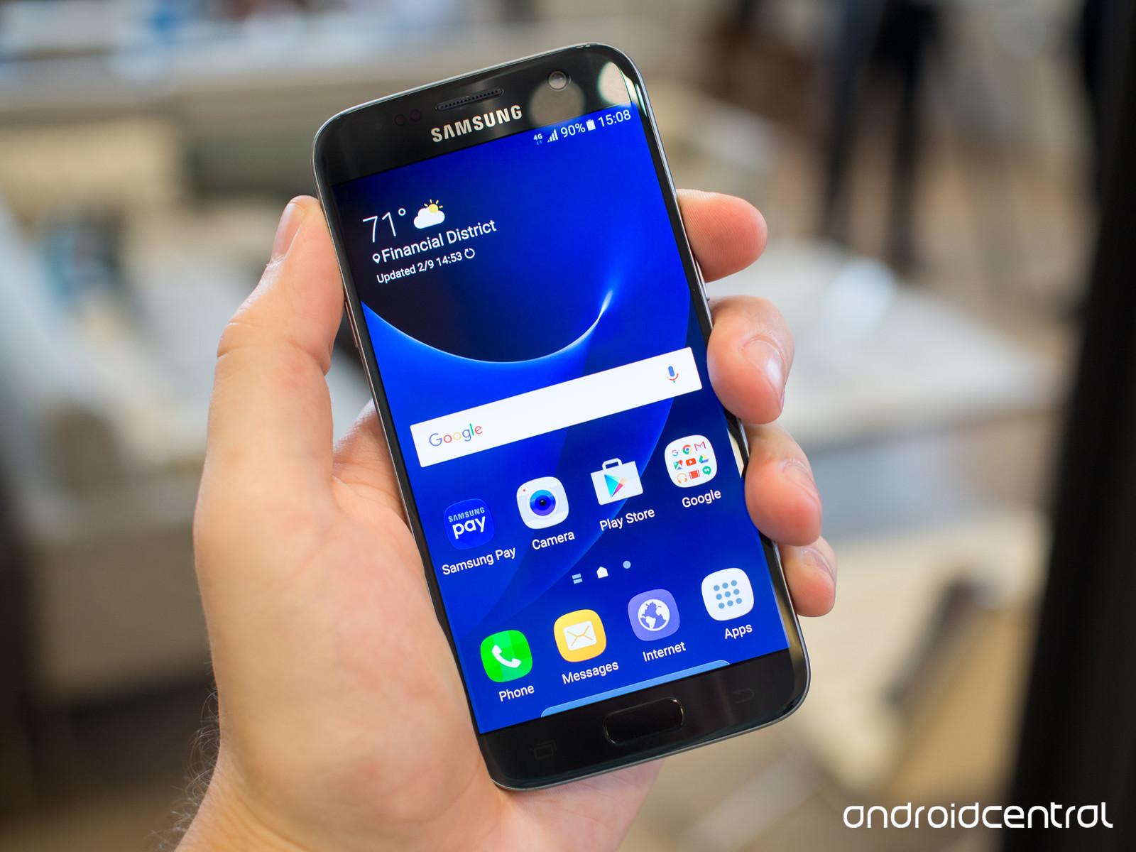 Ngắm nhìn 4 màu sắc cực hot của Galaxy S7, S7 edge 7