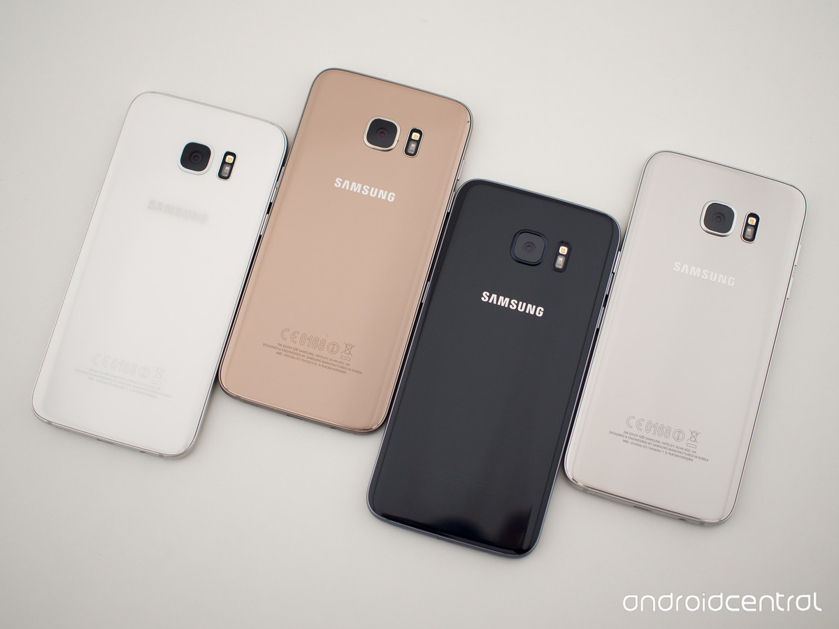 Ngắm nhìn 4 màu sắc cực hot của Galaxy S7, S7 edge