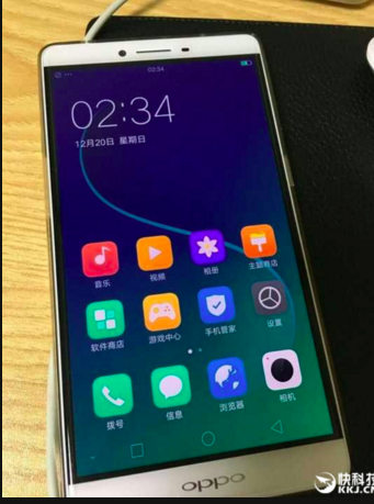 giao diện ColorOS 3.0 trên Oppo R7s