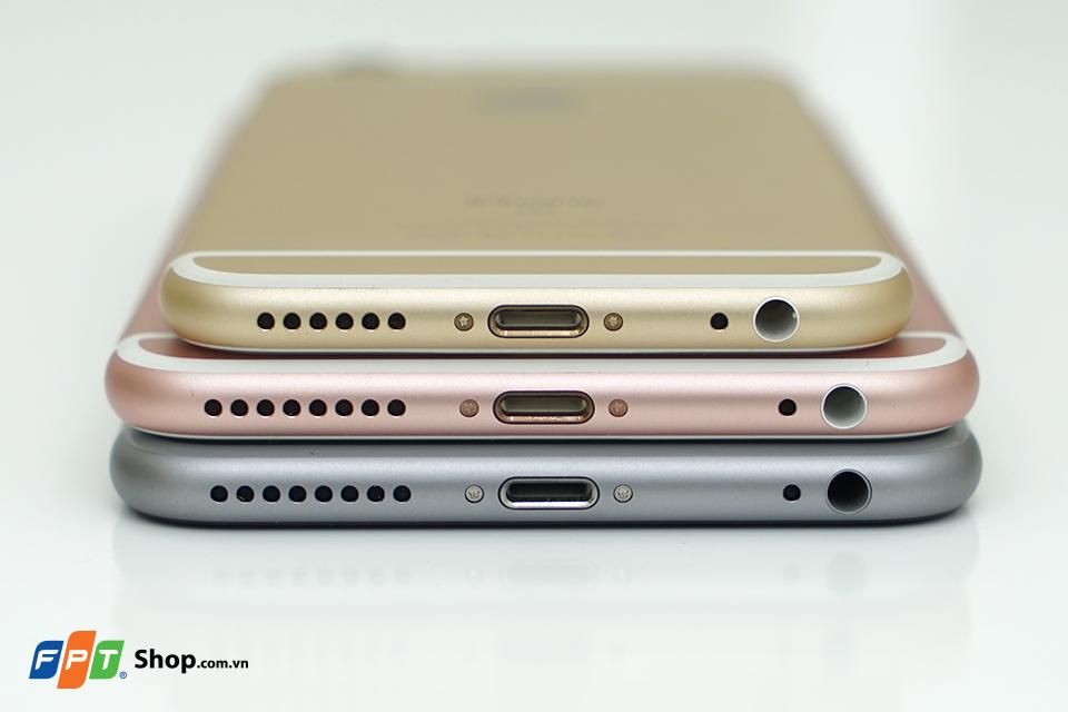 Bộ ảnh 3 màu iphone 6s và iphone 6s plus