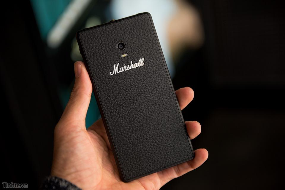 Trên tay Marshall London - smartphone cho người yêu âm nhạc