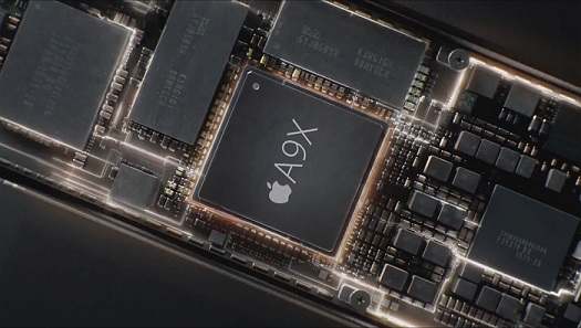 So sánh chip Apple A9X với Intel Core M