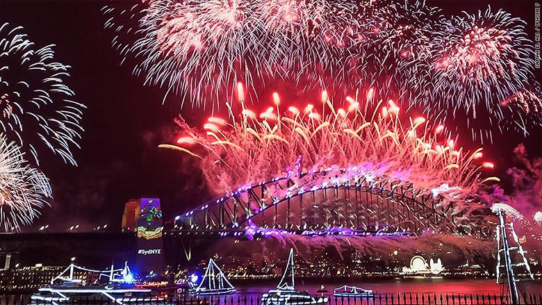 Bộ ảnh mừng năm mới ấn tượng qua ống kính iPhone 7