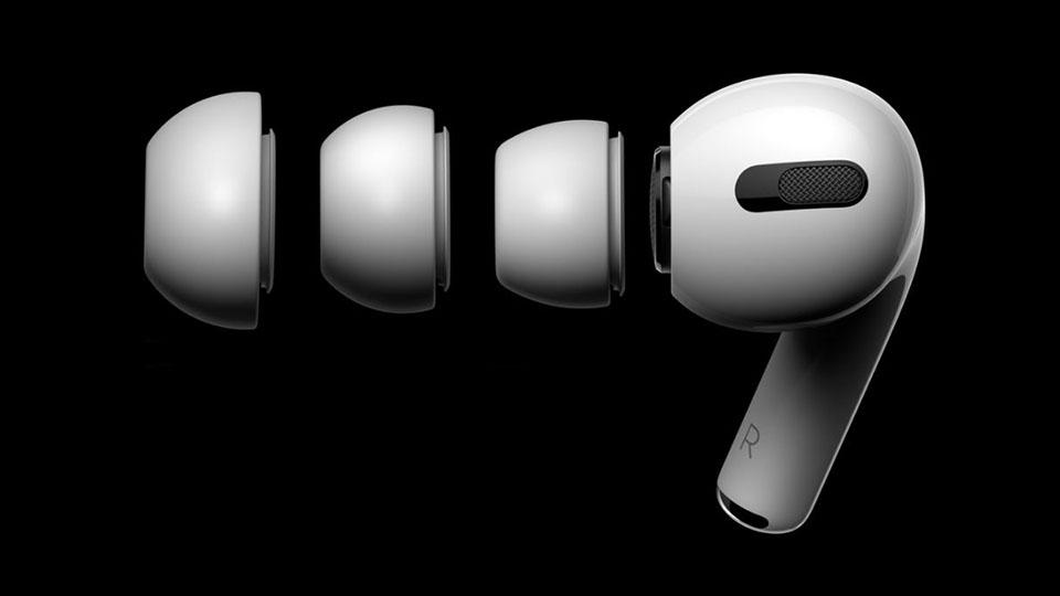 Trên AirPods Pro, Apple còn bố trí lõi thông khí 1