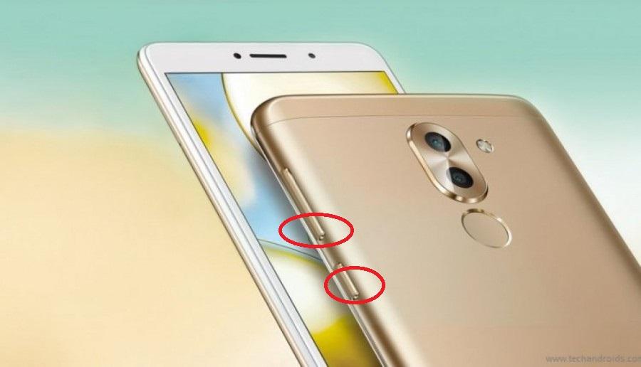 Hướng dẫn chụp ảnh màn hình trên Huawei GR5 2017 1