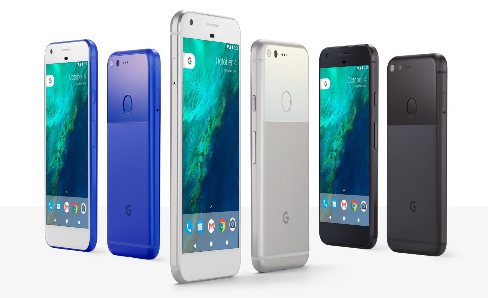 So sánh cấu hình Google Pixel XL với Galaxy Note 7 và LG V20 5