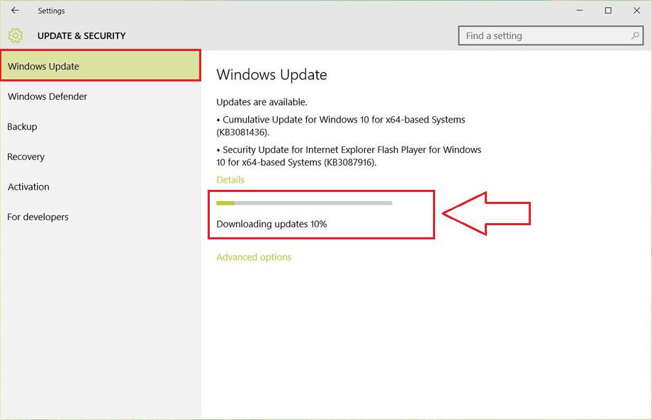 Hướng dẫn phục hồi máy tính bị treo trong quá trình cập nhật Windows 34