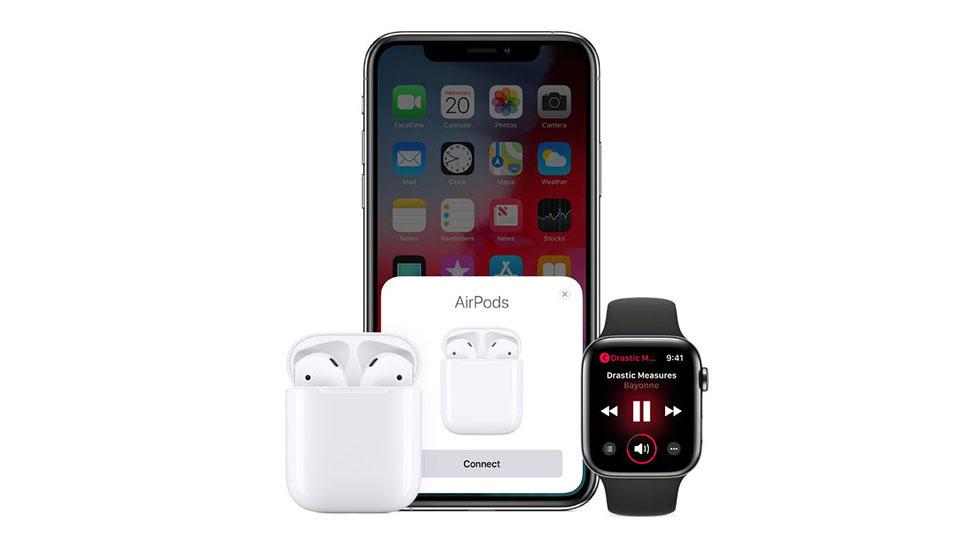 Sự kết hợp hoàn hảo giữa iPhone và AirPods 2 1