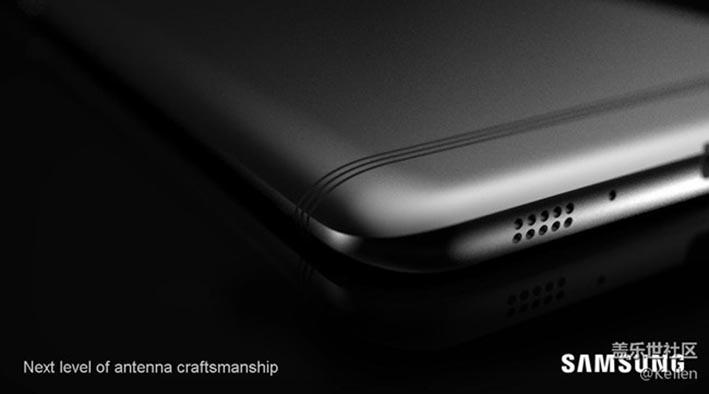 Rò rỉ hình ảnh Galaxy C9 Pro với dải ăng-ten độc đáo 1