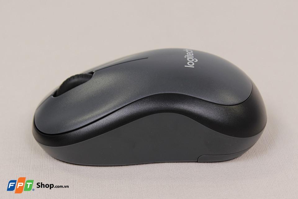 Chuột không dây Logitech M221 Tương thích với nhiều thiết bị
