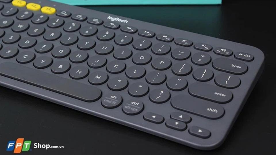 Chuyển đổi bàn phím bluetooth Logitech K380