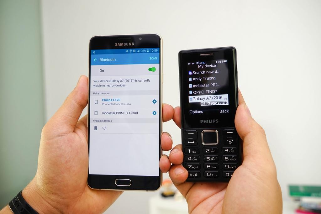 Philips E170 – 5 tính năng cực hot của Bluetooth Partner