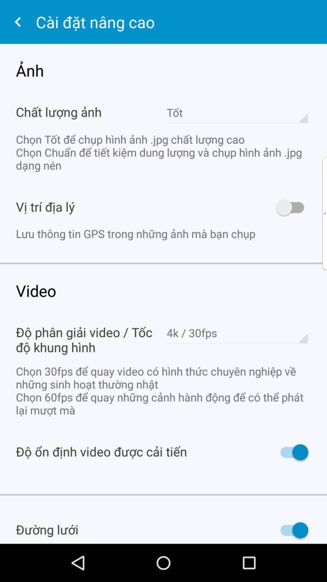 Đánh giá nhanh Camera trên BlackBerry Priv