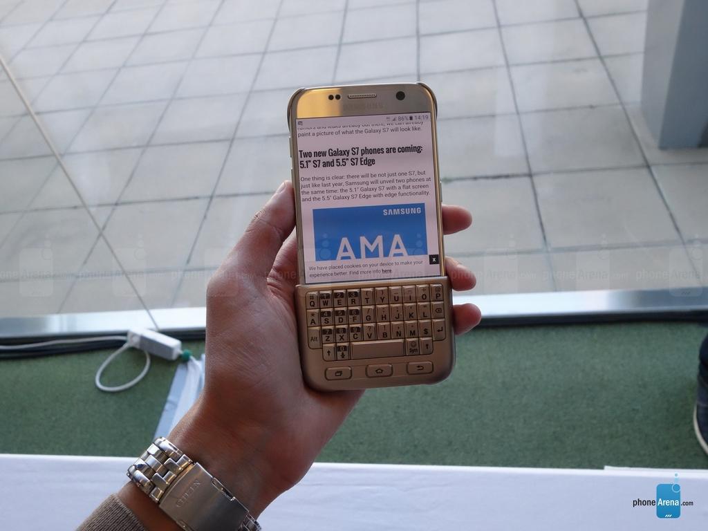 Trên tay Galaxy S7 & S7 edge cùng các phụ kiện cực kool