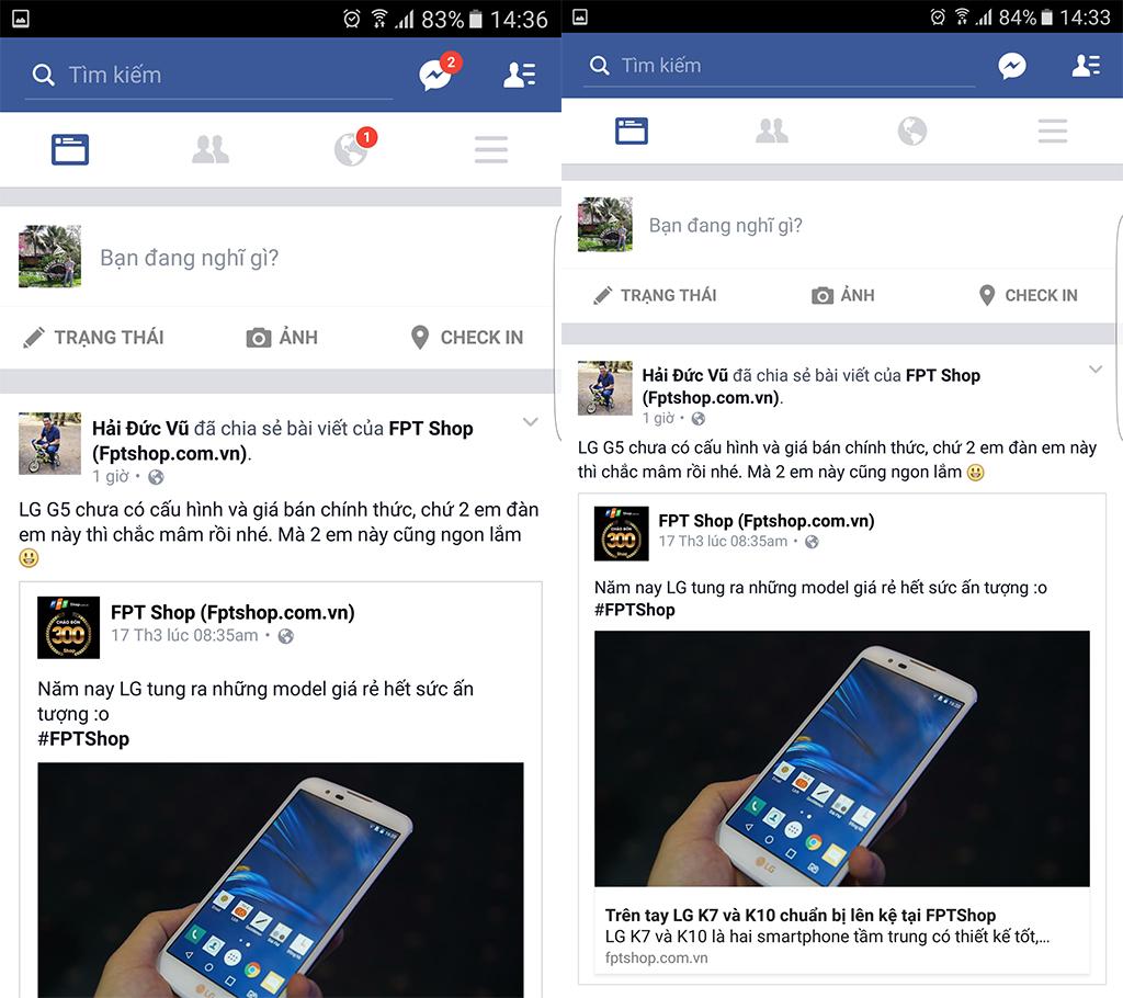 Hướng dẫn thu gọn màn hình trên Galaxy S7/S7 edge