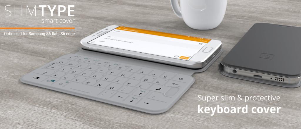 SlimType - Cover tích hợp bàn phím cho Galaxy S6