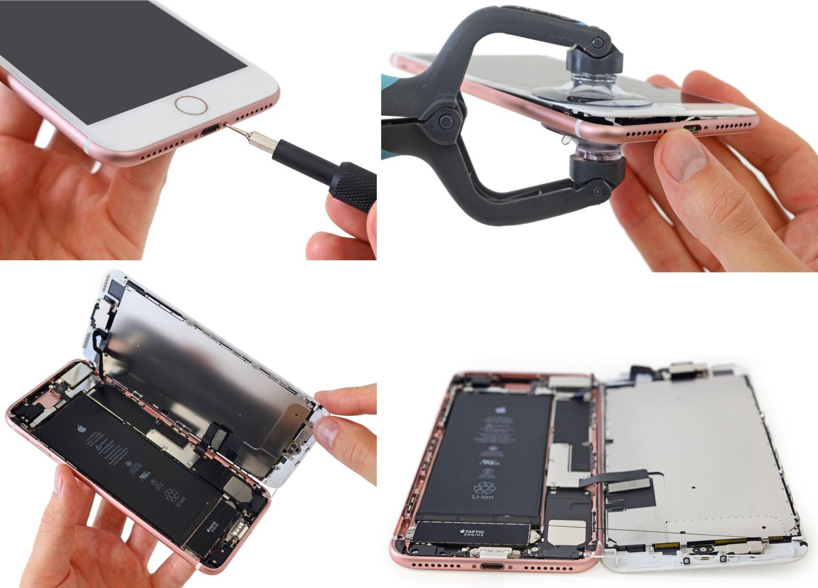 iPhone 7 và 7 Plus có dễ sửa chữa không?