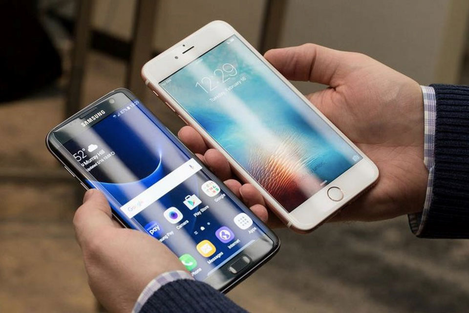 Galaxy S7 Edge đọ pin với iPhone 6s Plus, S6 Edge+ và Note 5
