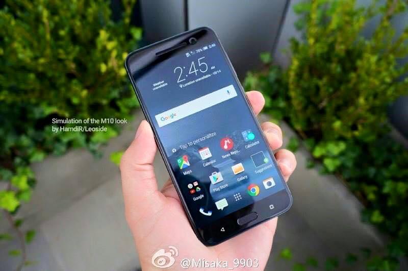 Lộ diện hình ảnh thực tế của HTC M10 (HTC 10)