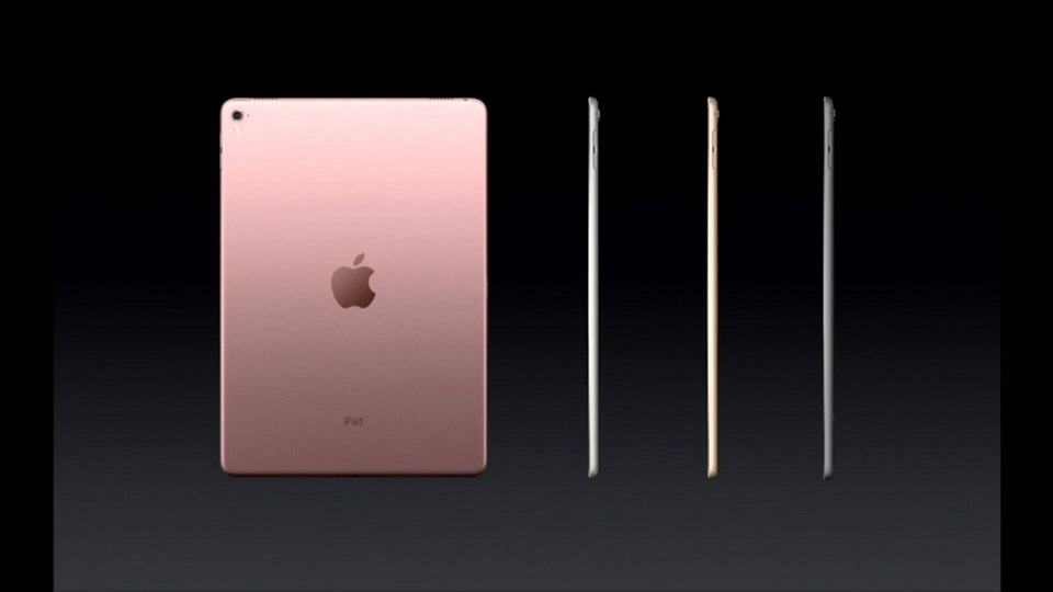 Apple ra mắt iPad Pro 9.7 inch