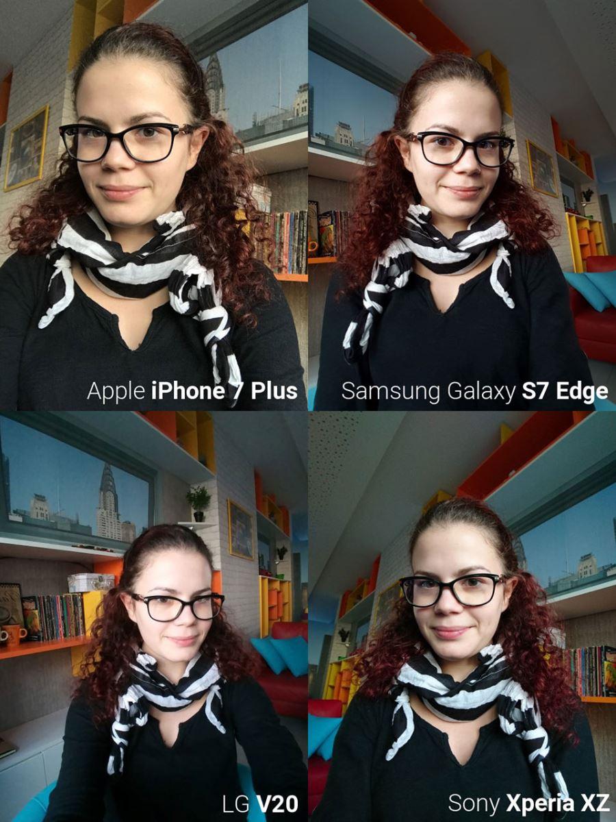 So sánh ảnh Selfie