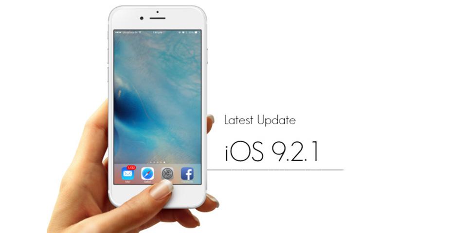 Apple phát hành bản cập nhật iOS 9.2.1