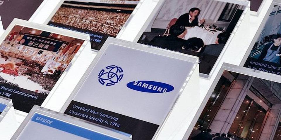 Samsung đăng video 33 năm phát triển của hãng.