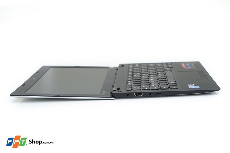 Mở hộp laptop giá rẻ Lenovo Ideapad 100s