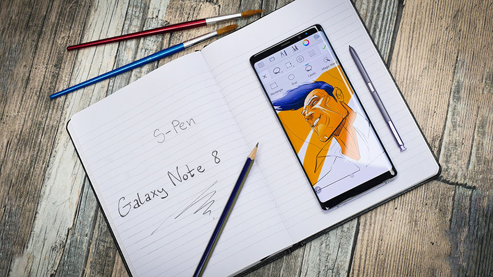 Mẹo Galaxy Note 8