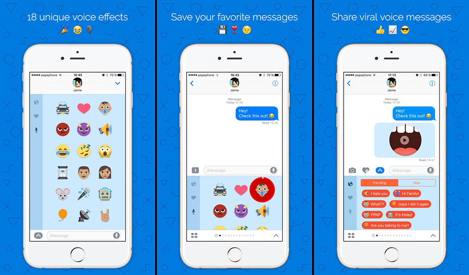 Another Voice for iMessage