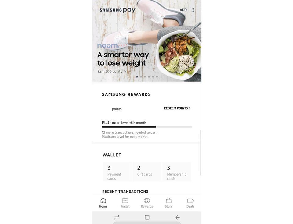 Samsung Pay được thiết kế lại, đơn giản hóa giao diện
