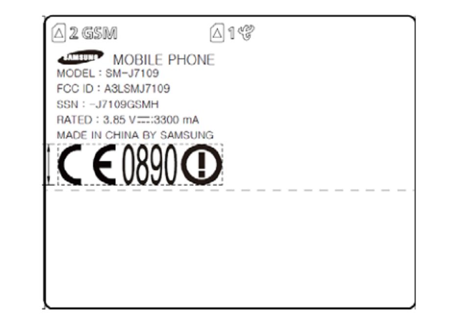 Galaxy J7 (2016) được xác nhận với pin 3300 mAh