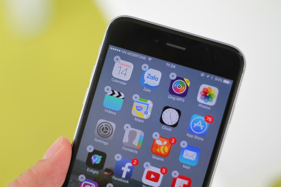 Sự thật là iOS 10 không hề cho phép xóa ứng dụng mặc định