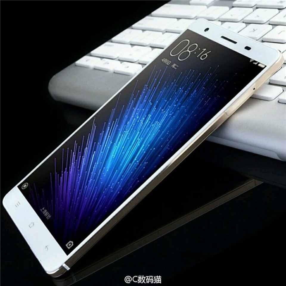 Hình ảnh thiết kế mới Xiaomi Max với khung viền kim loại sang trọng