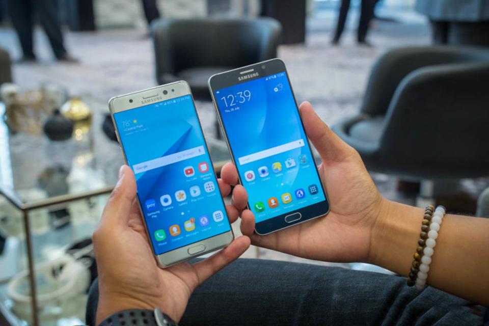 So sánh Samsung Galaxy Note 7 vs Galaxy Note 5