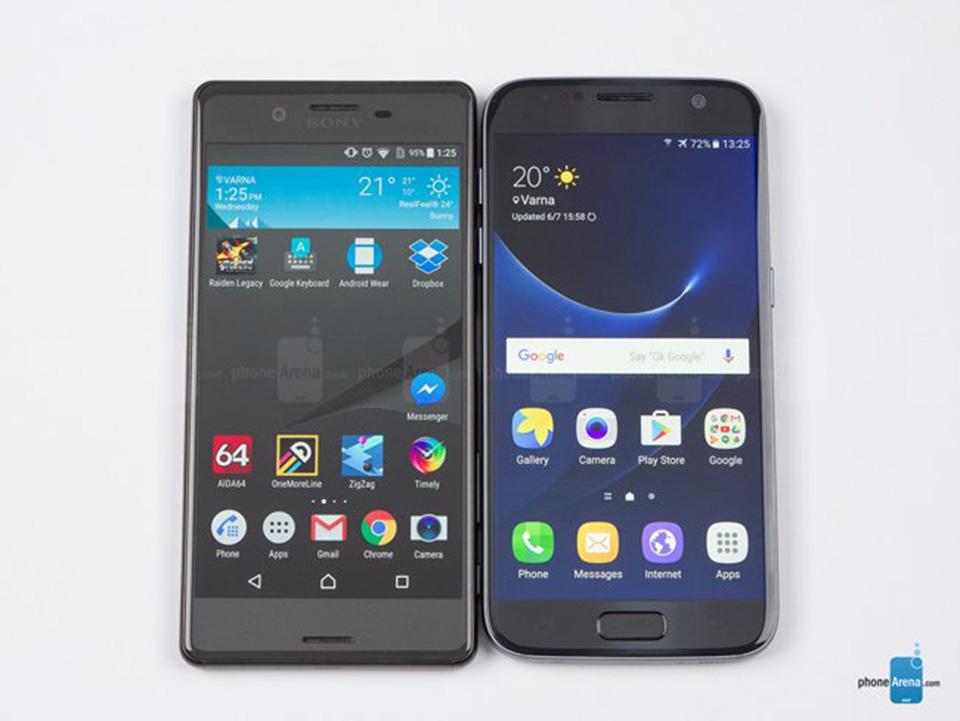 So sánh nhanh Sony Xperia X và Samsung Galaxy S7