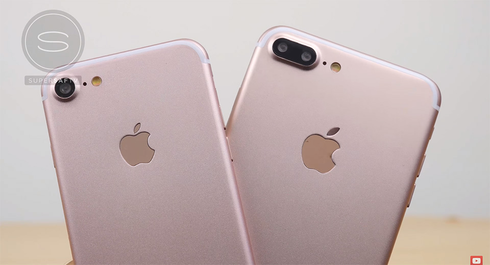 Video so sánh rõ nét iPhone 7 và iPhone 7 Plus