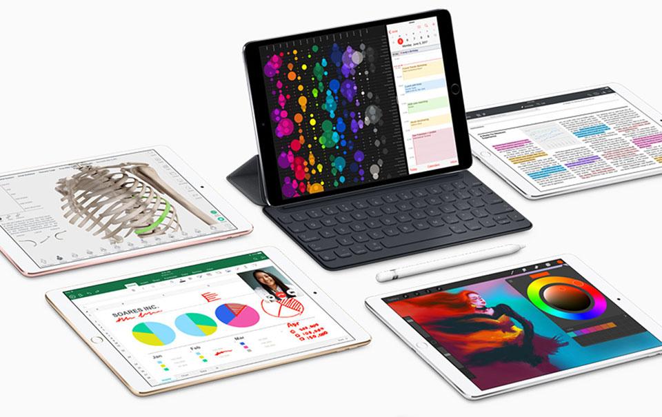 iPad Pro 10.5 với iOS 11